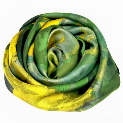 Sjaals | Inspired by Monet | 800-506 | 130x130 cm