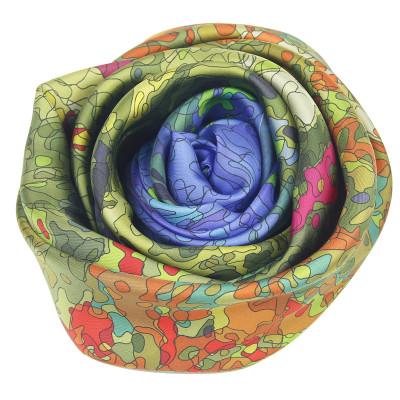 Sjaals | Inspired by Monet | 800-508 | 130x130 cm