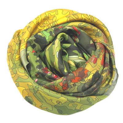 Sjaals | Inspired by Monet | 800-505 | 65x65 cm