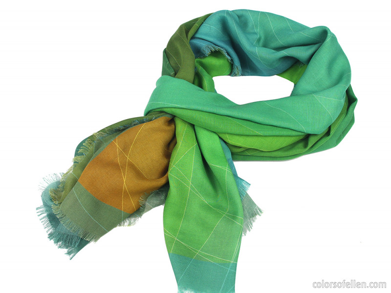 New series of scarves - Colori
