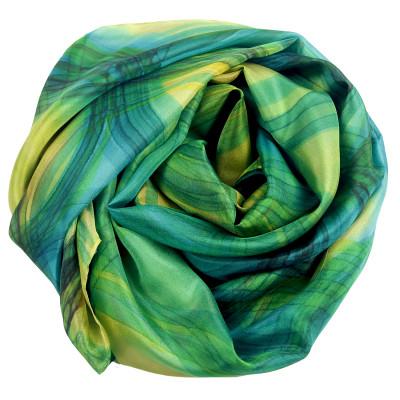 Sjaals | Handbeschilderd | 180x45 cm | 100-301