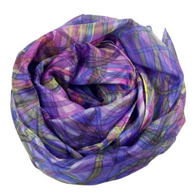 Sjaals | Handbeschilderd | 180x45 cm | 100-310