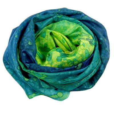 Sjaals | Handbeschilderd | 180x90 cm | 100-300
