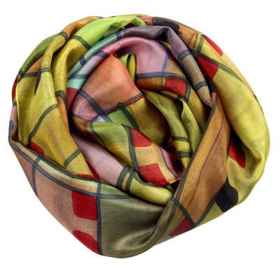 Sjaals | Handbeschilderd | 180x90 cm | 100-313