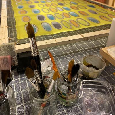 Workshops 2-daagse workshop zijde schilderen