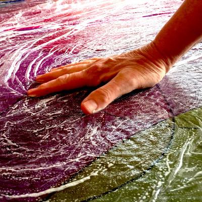 Workshops 3-daagse workshop zijde schilderen en vilten